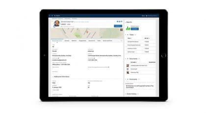 Boréalis stakeholder profile view